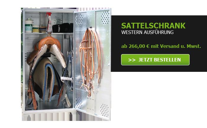 Sattelschrank Western Ausführung ab 266 Euro