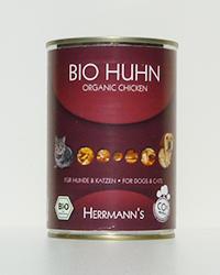 Herrmann's Bio Huhn (Reinfleischdose)